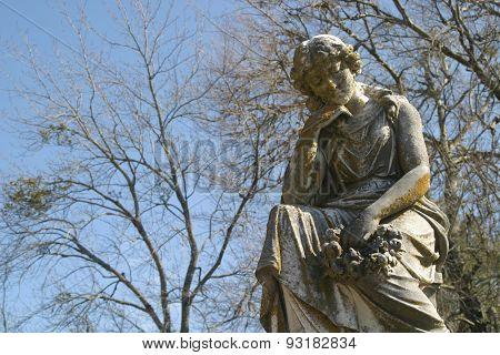 Grave Statue