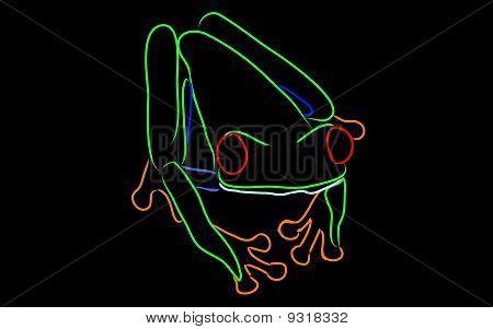 Weird Froggie Vector