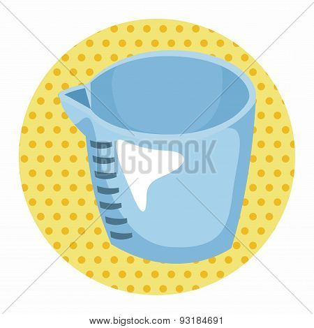 Kitchenware Measuring Cup Theme Elements