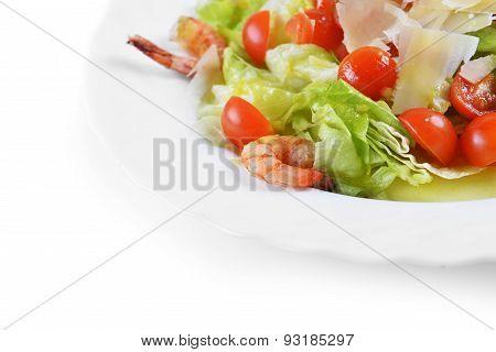 Salad With Seafood
