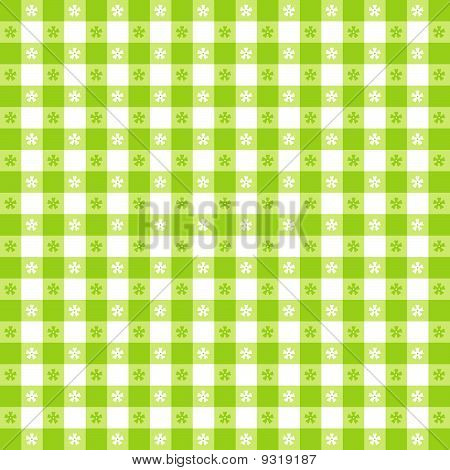 Seamless Tablecloth Pattern