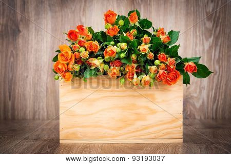 Roses in the box