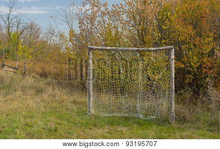 Old football gateway