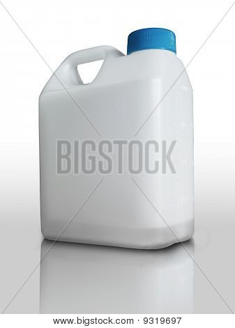 White Plastic Gallon