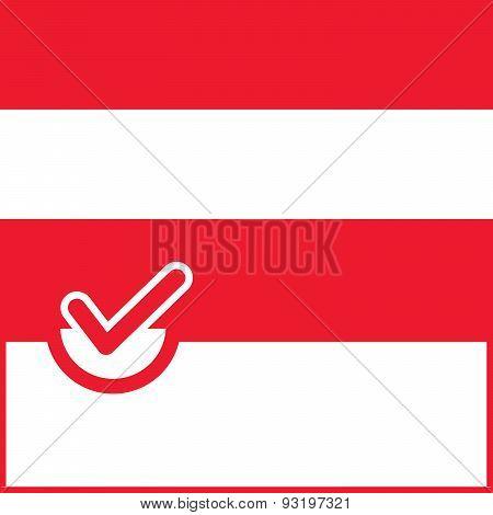 Voting Symbol Austria Flag