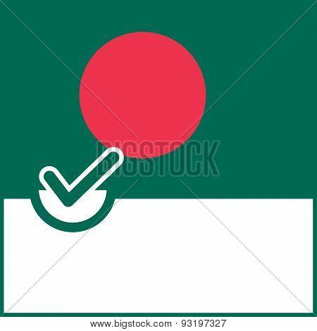 Voting Symbol Bangladesh Flag
