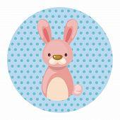 picture of chinese zodiac animals  - Chinese Zodiac Rabbit Theme Elements - JPG