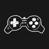 foto of controller  - Doodle Game Controller - JPG