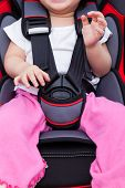 picture of seatbelt  - Image of little asian  - JPG