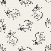 pic of donkey  - Donkey Doodle - JPG
