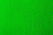 stock photo of stippling  - Abstract Green ceiling stipple effect paint background - JPG