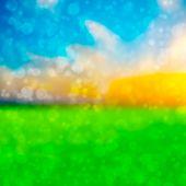 foto of debonair  - Colorful of soft and blurred bokeh background - JPG