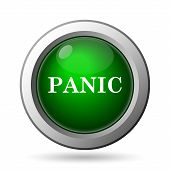 picture of panic  - Panic icon - JPG