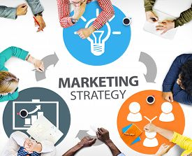 picture of marketing plan  - Marketing Strategy Branding Commercial Advertisement Plan Concept - JPG