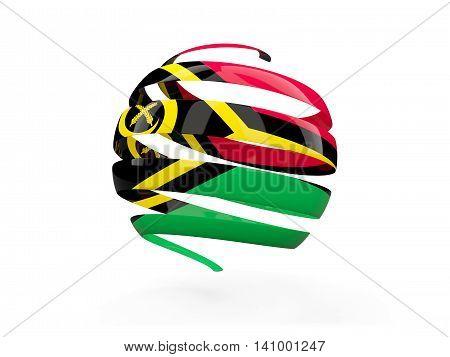 Flag Of Vanuatu, Round Icon