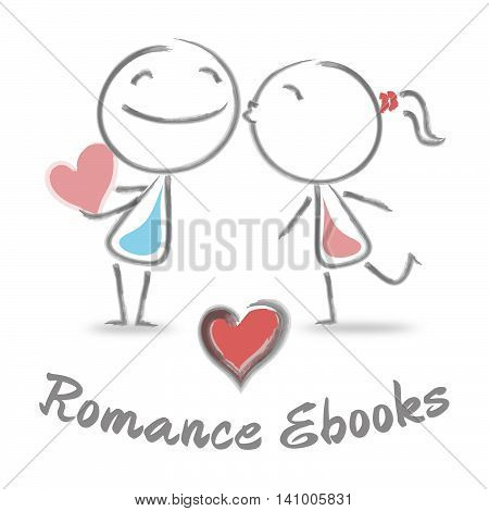 Romance Ebooks Shows Find Love And Affection