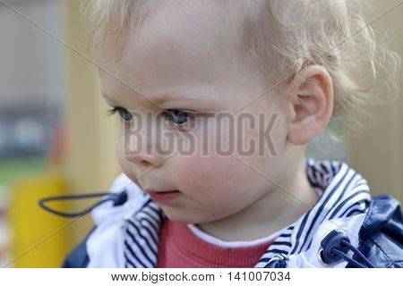 Portrait Of A Toddler