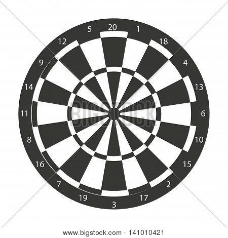 target dart sport arrow icon vector illustration icon