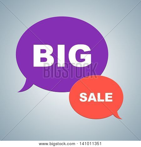 Big Sale Shows Closeout Discounts And Savings