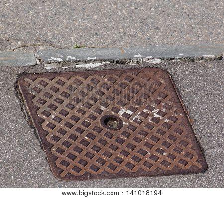 Steel Manhole Detail