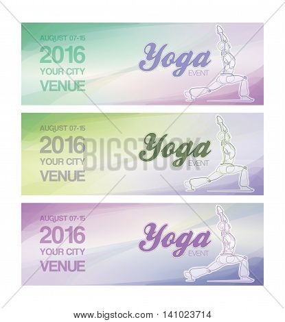 Yoga Event Banners