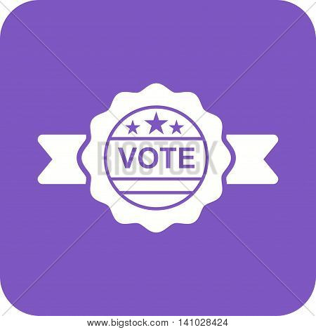 Election, banner, people icon vector image.Can also be used for elections. Suitable for web apps, mobile apps and print media.