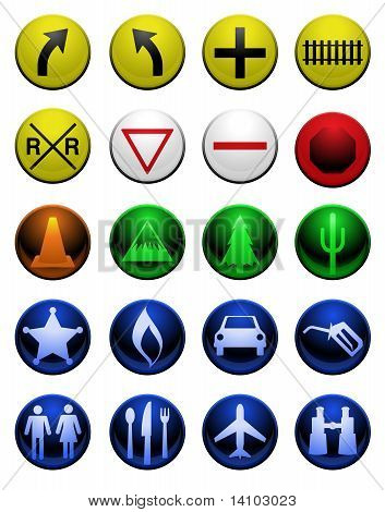 Shiny Map Icons