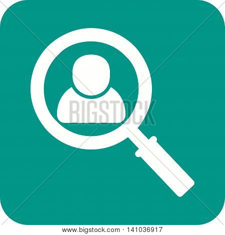 Job, search, candidate icon vector image. Can also be used for employment. Suitable for use on web apps, mobile apps and print media.
