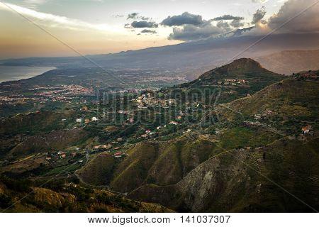 Landscapes In Sicily