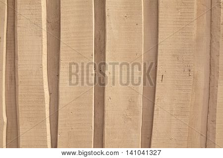 Natural Color Barn Timber Wall Made From Rough Overlapped Boards