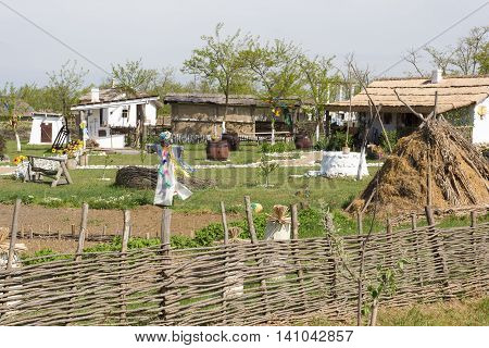 TAMAN, RUSSIA-7 MAY,2014: Ethnographic village
