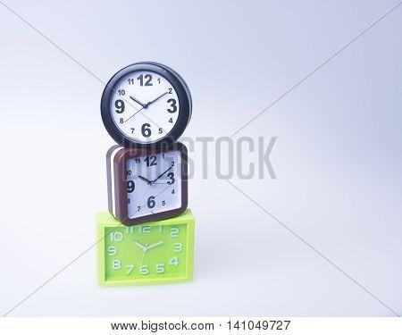 Alarm Clock. Alarm Clock On Background. Alarm Clock On The Background.