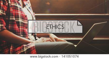 Ethics Morals Integrity Values Concept