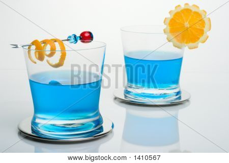 Blue Shark Cocktail