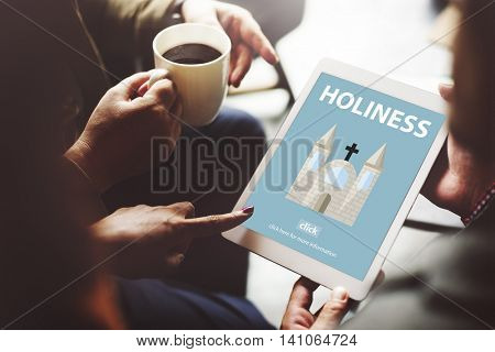 Holiness Holy Religion Spirituality Wisdom Church Concept
