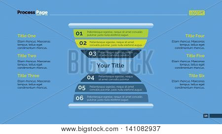 Hourglass diagram. Element of presentation, step diagram, process chart. Creative concept for templates, infographics, presentation, reports. Can be used for topics like strategy, planning, analysis