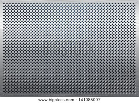 Vector - Gray Still metal background pattern texture