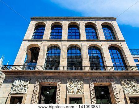 Arengario, Milan Hdr