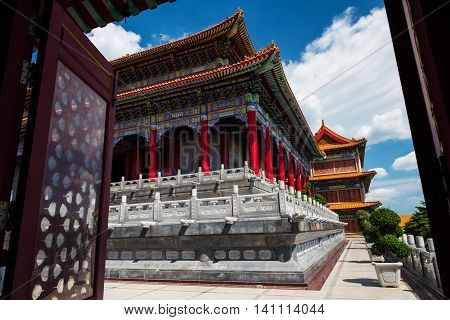 Gateway To Chinese Temple