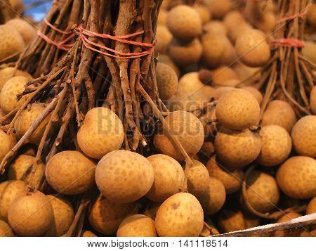 Thai fruit vitamins tasty sweet longan Лонган