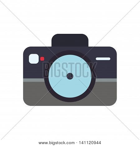 camera gadget technology photography icon. Isolated and flat illustration. Vector graphic