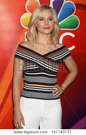 LOS ANGELES - AUG 2:  Kristen Bell at the NBCUniversal TCA Summer 2016 Press Tour at the Beverly Hilton Hotel on August 2, 2016 in Beverly Hills, CA