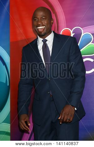 LOS ANGELES - AUG 2:  Akbar Gbaja-Biamila at the NBCUniversal TCA Summer 2016 Press Tour at the Beverly Hilton Hotel on August 2, 2016 in Beverly Hills, CA