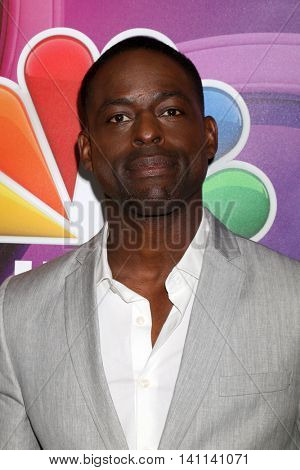 LOS ANGELES - AUG 2:  Sterling K. Brown_ at the NBCUniversal TCA Summer 2016 Press Tour at the Beverly Hilton Hotel on August 2, 2016 in Beverly Hills, CA