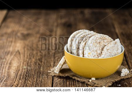 Some Rice Cakes