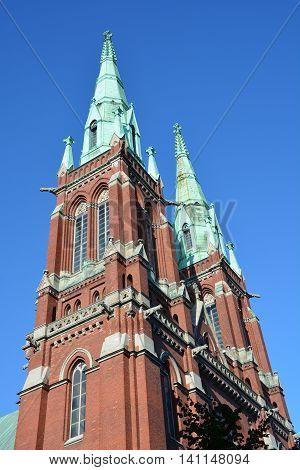HELSINKI FINLAND SEPTEMBER 26 2105: St. John