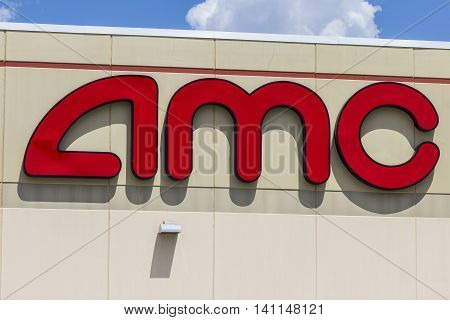 Indianapolis - Circa July 2016: AMC Movie Theater Location. AMC Theaters is an American Movie Theater Chain IV
