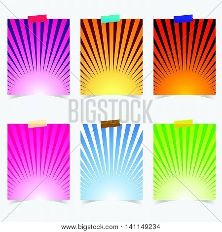 Poster Promotional With Colorful Item On It Illustration