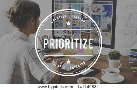 Prioritize Tasks Urgency Urgent Work Importance Concept