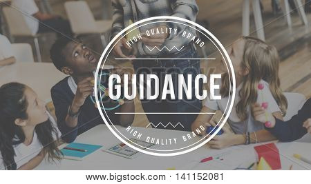 Guidance Advice Assistance Coaching Sharing Concept
